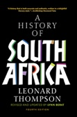 A History of South Africa, Fourth Edition - Leonard Thompson Cover Art