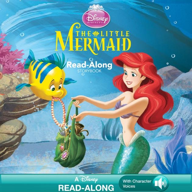 Disney princess the little mermaid read along storybook by disney disney princess the little mermaid read along storybook by disney book group on ibooks altavistaventures Image collections
