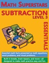 Math Superstars Subtraction Level 3 Helps Children Learn To Subtract