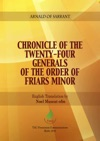Chronicle Of The Twenty-Four Generals Of The Order Of Friars Minor