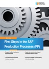 First Steps In SAP Production Processes PP