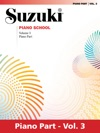 Suzuki Piano School - Volume 3 New International Edition