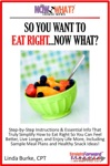 So You Want To Eat RightNow What Step-by-Step Instructions  Essential Info That Truly Simplify How To Eat Right So You Can Feel Better Live Longer And Enjoy Life More Including Sample Meal Plans  Healthy Snack Ideas
