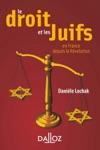 Le Droit Et Les Juifs En France Depuis La Rvolution