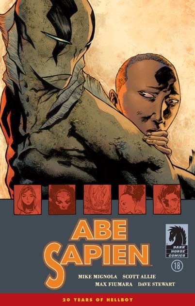 Abe Sapien #18 by Mike Mignola on iBooks