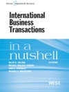 Folsom Gordon Spanogle And Van Alstines International Business Transactions In A Nutshell 9th