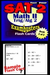 SAT 2 Math Level II Test Prep Review--Exambusters Algebra 2-Trig Flash Cards--Workbook 2 Of 2