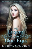 B. Kristin McMichael - The Legend of the Blue Eyes  artwork