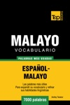 Vocabulario Espaol-Malayo 7000 Palabras Ms Usadas