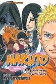 Naruto: The Seventh Hokage and the Scarlet Spring - Masashi Kishimoto Cover Art