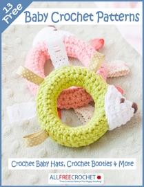 13 Free Baby Crochet Patterns: Crochet Baby Hats, Crochet Booties & More - Prime Book