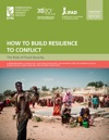 How To Build Resilience To Conflict