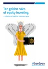 Ten Golden Rules Of Equity Investment