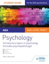 AQA Psychology Student Guide 1 Introductory Topics In Psychology Includes Psychopathology