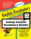 Exambusters English Vocabulary Study Cards College Vocabulary Builder--Part 2 Of 2