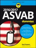 2016 / 2017 ASVAB For Dummies - Rod Powers Cover Art