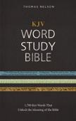 KJV, Word Study Bible, Ebook, Red Letter Edition - Thomas Nelson Cover Art