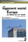 Le Logement Social En Europe Au Dbut Du Xxie Sicle