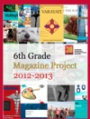 6th Grade Magazine Project 2012-2013