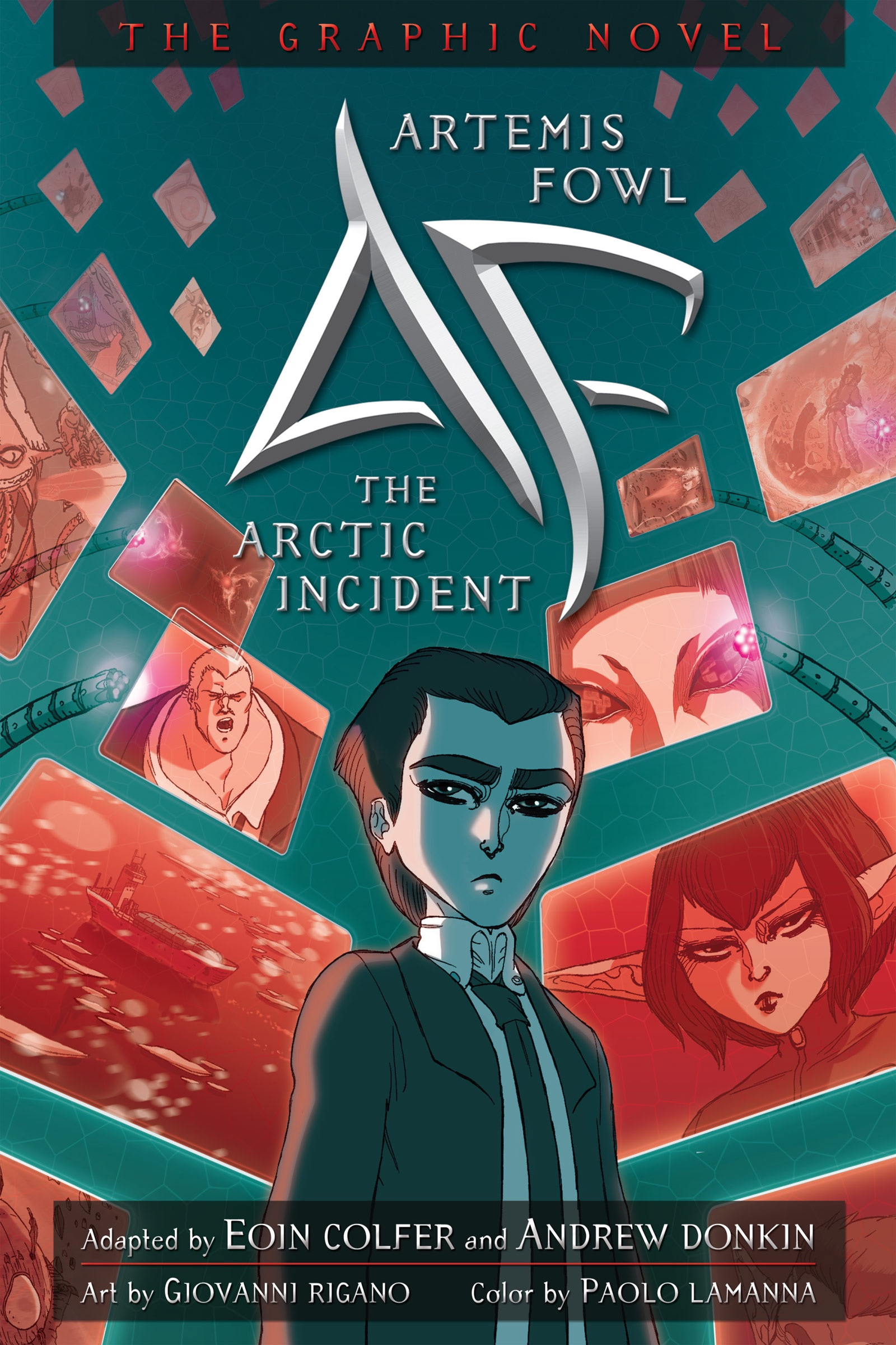 artemis fowl the arctic incident graphic novel download