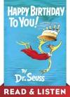 Happy Birthday To You Read  Listen Edition