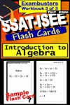 SSAT-ISEE Test Prep Algebra Review--Exambusters Flash Cards--Workbook 3 Of 3
