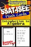 SSAT-ISEE Test Prep Algebra Review--Exambusters Flash Cards--Workbook 3 Of 3