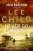 Lee Child - Never Go Back artwork