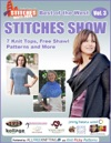 Best Of The West STITCHES Show 7 Knit Tops Free Shawl Patterns And More Vol 3
