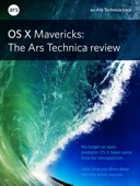 OS X 10.9 Mavericks: The Ars Technica Review - John Siracusa Cover Art