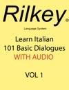 Learn Italian 101 Basic Dialogues With Audio Enhanced Book