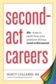 Second-Act Careers - Nancy Collamer Cover Art