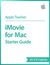 IMovie For Mac Starter Guide OS X El Capitan