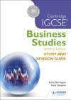 Cambridge IGCSE Business Studies Study And Revision Guide