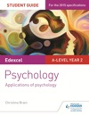 Edexcel A-level Psychology Student Guide 3 Applications Of Psychology