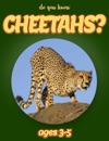Do You Know Cheetahs Animals For Kids 3-5