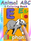 Animal ABC  E-Coloring-Book