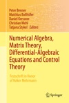 Numerical Algebra Matrix Theory Differential-Algebraic Equations And Control Theory