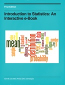 Introduction to Statistics: An Interactive e-Book