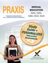 PRAXIS Special Education 03545354 5383 05435543 Book And Online