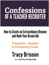 Confessions Of A Teacher Recruiter Templates Samples And Formatting Guide