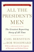All the President's Men - Bob Woodward & Carl Bernstein Cover Art