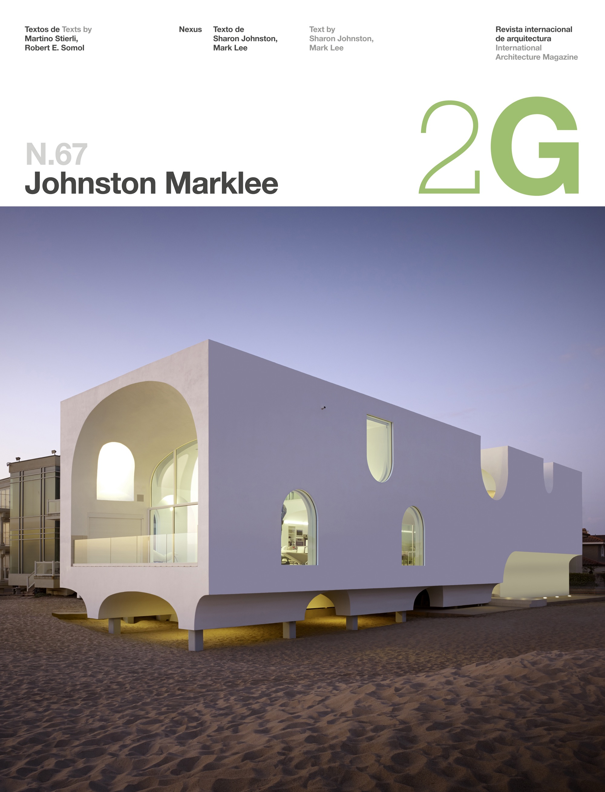 2G N.67 Johnston Marklee by Martino Stierli, Robert E ...