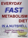 EVERYDAY FAST METABOLISM DIET IN A NUTSHELL Complete Plan And Recipes Phase 1 - Phase 2 - Phase 3
