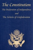 The U.S. Constitution with The Declaration of Independence and The Articles of Confederation - The Founding Fathers Cover Art
