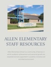 Allen Elementary Staff Resources