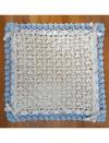 Blue And Tan Baby Blanket Crochet Pattern