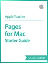 Pages For Mac Starter Guide OS X El Capitan