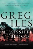 Greg Iles - Mississippi Blood artwork