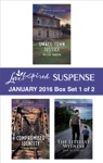 Love Inspired Suspense January 2016 - Box Set 1 Of 2